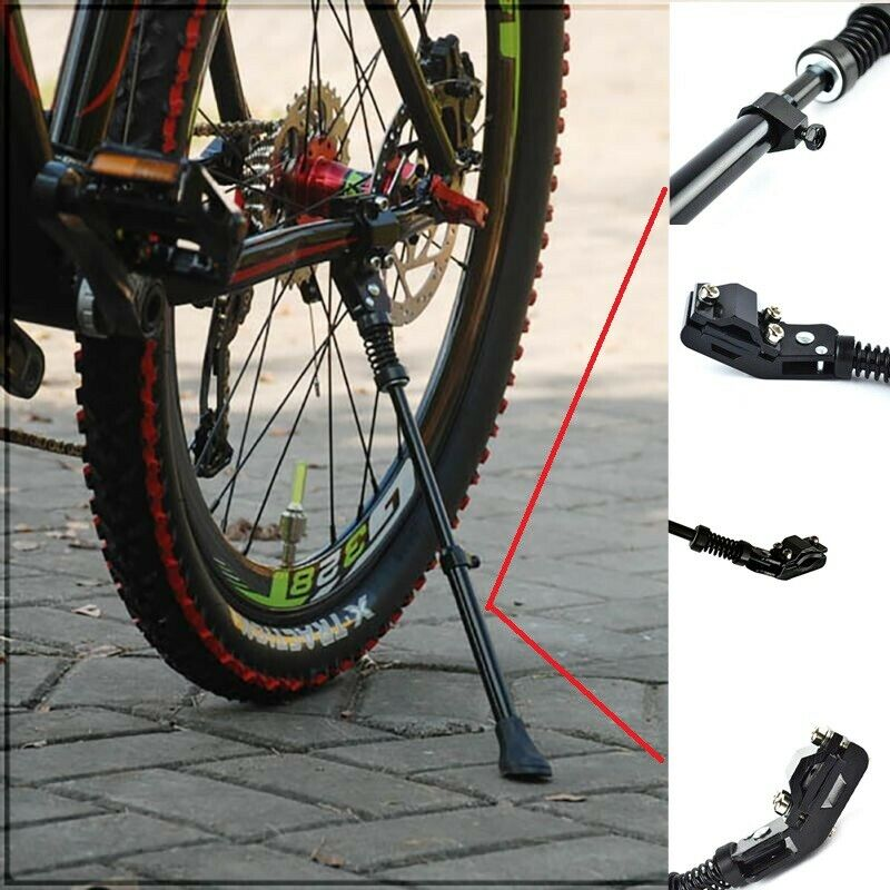 MTB Mountain Bicycle Kickstand Parking Racks Bike Support Side Stand Foot Brace