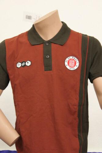 FC st. pauli Hambourg joueur polo-shirt/chemise, saison 2010/11, NEUF