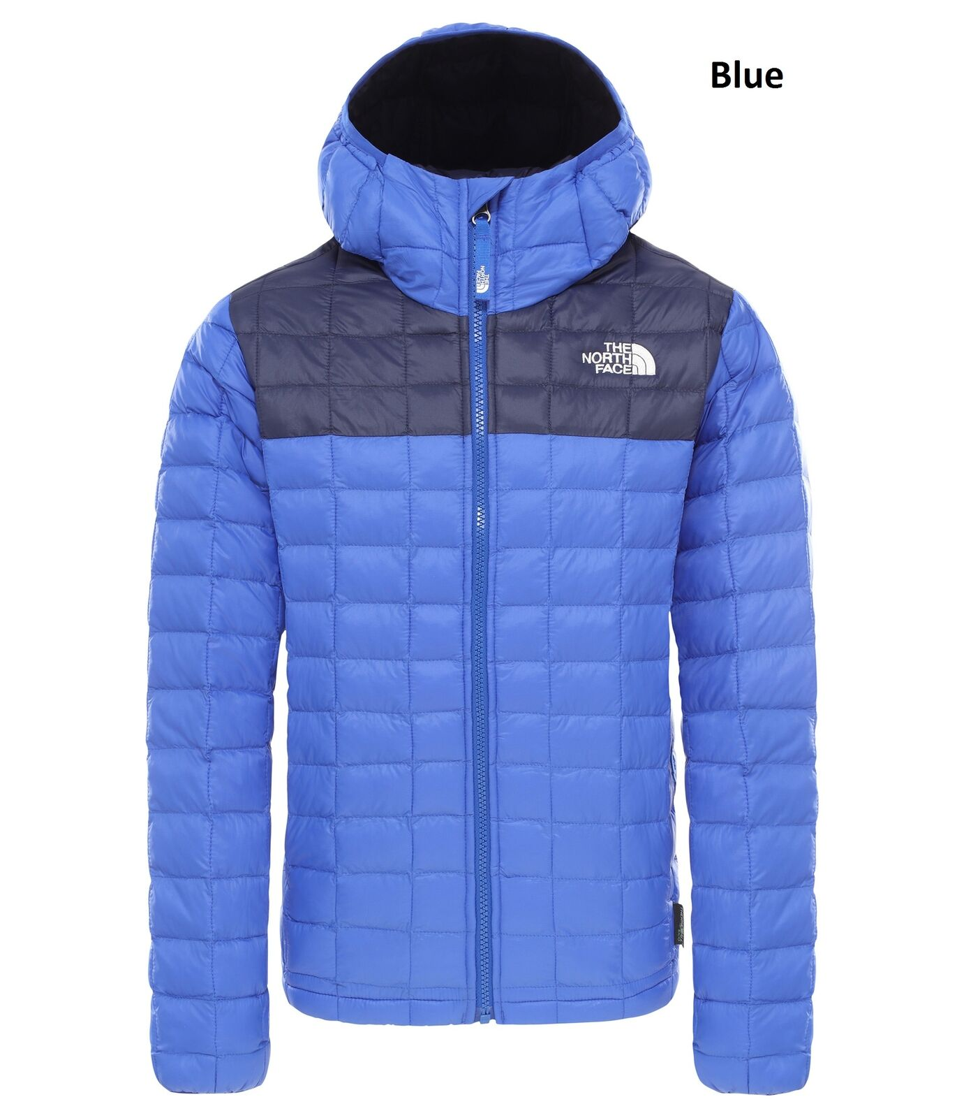 The North Face Boys Thermoball Eco Hoodie Jacket - Warm and Hooded