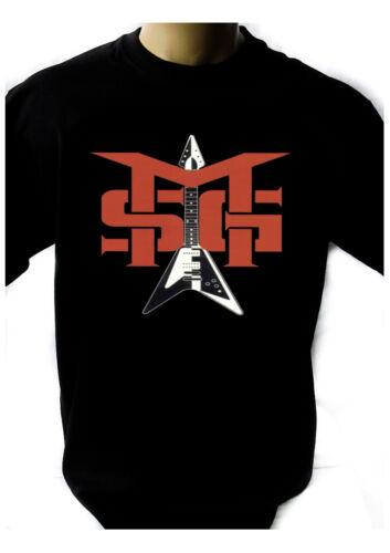 MSG MICHAEL SCHENKER GROUP LOGO Black New T-shirt Rock Band Shirt Rock Tee