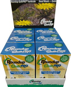 Roundup-Quik-Pro-Weed-Killer-HERBICIDE-73-3-5-Packets-Quick-Pro