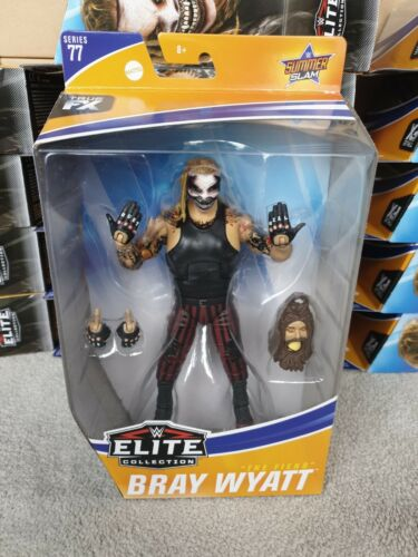WWF WWE Elite Mattel Wrestling Figure Rare le démon Bray Wyatt série 77 NEUF
