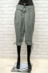 Pantalone-Donna-FRACOMINA-Taglia-Size-40-Jeans-Pants-Bermuda-Woman-Corto-Regular