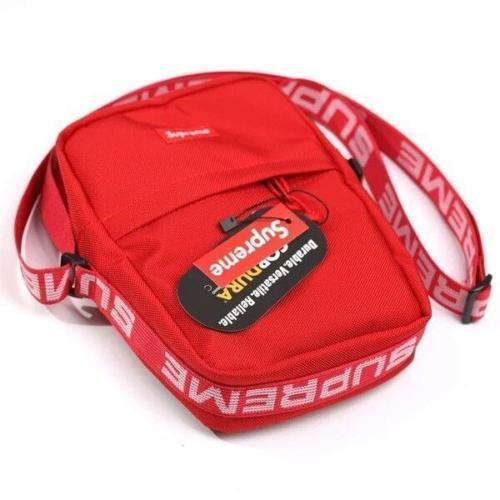 Neu Supreme Reflective Repeat Shoulder Bag Box Logo Classic Backpack