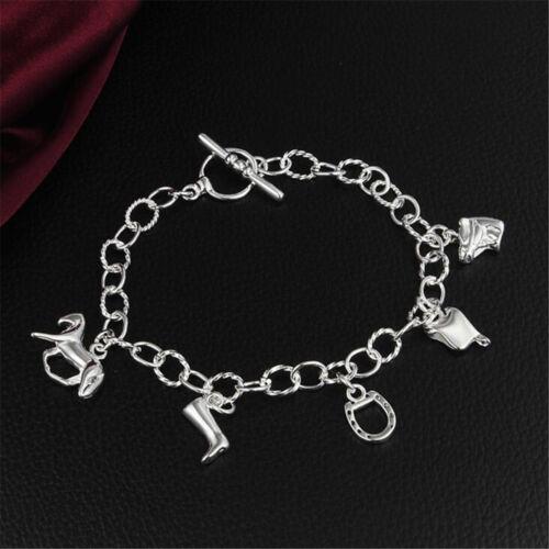 New Fashion Women 925 argenture Bracelet Fashion Jewelry Wholesale S28