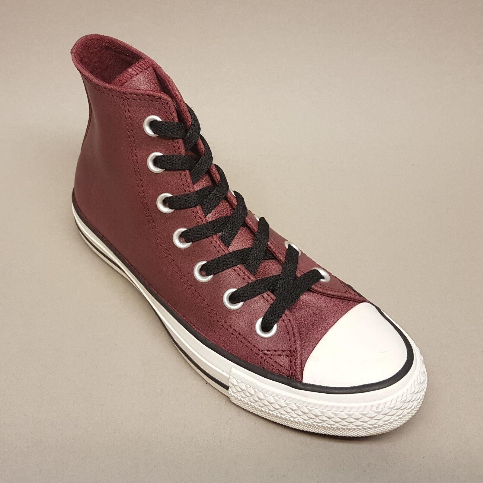 Converse All Star Chuck Hi Oxheart rot Leder 144762C Turnschuhe Sneaker rot Oxheart Leder 0d8e12