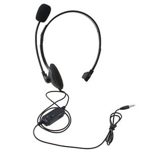 iphone headphone controls wired gaming headset headphone with mic volume for 11915