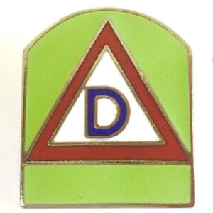 Details about Metal Lapel Pin US Military Emblems US 39th Airborne Division  Shield New
