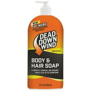 Dead Down Wind Body And Hair Soap With Pump 32 Oz Ebay