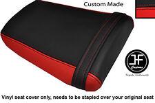 BLACK & RED VINYL CUSTOM FITS HONDA CBR 600 RR3 RR4 03-04 REAR SEAT COVER ONLY