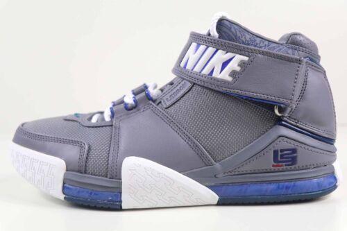 Nike Freddo 2 Grigio Lebron Ii Bianco Taglia 309378 Reale Zoom 8 012 Vintage Og rwrapq