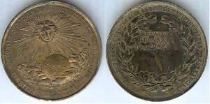 Medaille-de-table-PARIS-Ste-francaise-statistique-universelle-cuivre-d-50-mm