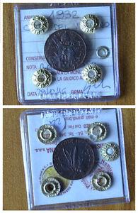 VATICAN-CITY-COIN-PIO-XI-5-CENT-1932-COPPER-RED-sealed-UNC