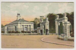 Londra-Cartolina-Park-Gates-Hyde-P-U-1905-A1528