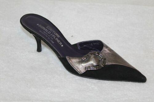 Vintage Donald J Pliner Couture womens mules size… - image 1