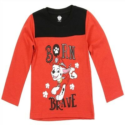 and 4T NWT Toddler Baby Boy Paw Patrol Marshall Long Sleeve T-shirt 2T 3T
