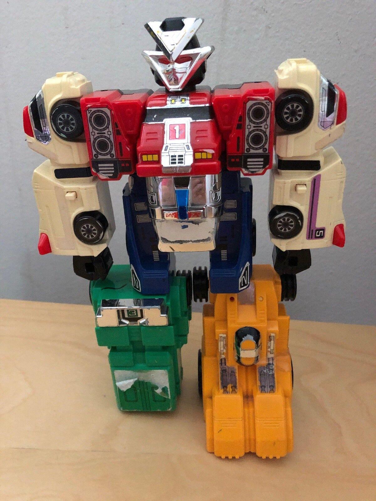 Hissho Gattai VRV Robo Carranger Power Rangers Turboranger DX Megazord Japan