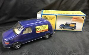 Publishers Clearing House Prize Patrol Van Coin Bank Blue 1996