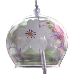 Adroit Japanese Glass Furin Wind Chimes Cloches Anniversaire Mariage Noël Pâques Cadeau-afficher Le Titre D'origine