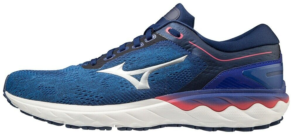 Mizuno Wave Sky Rise Mens Running Shoes - Blue