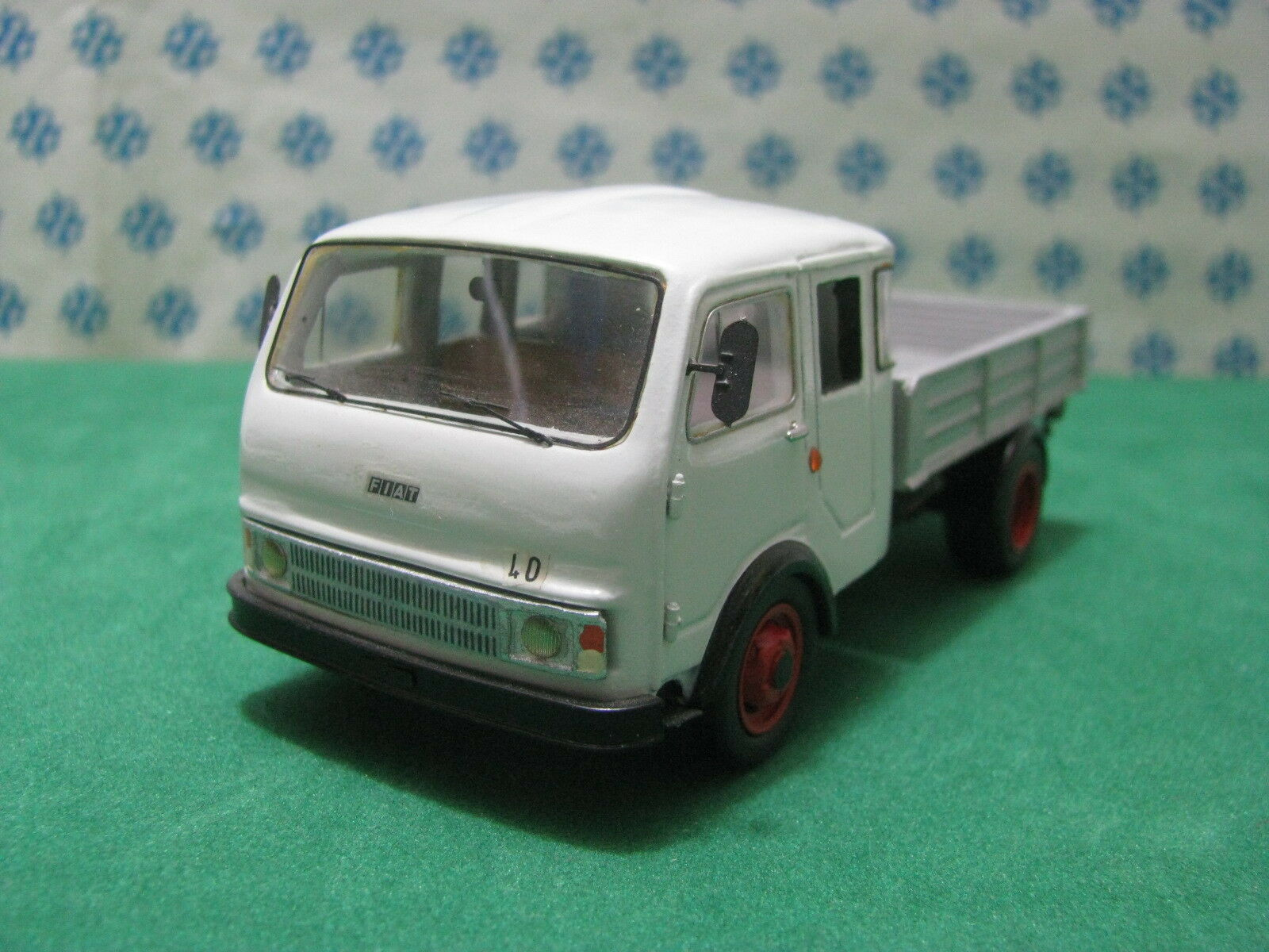 FIAT 40 1° series Double Cabin - handmade 1 43 Tecnotren Gila