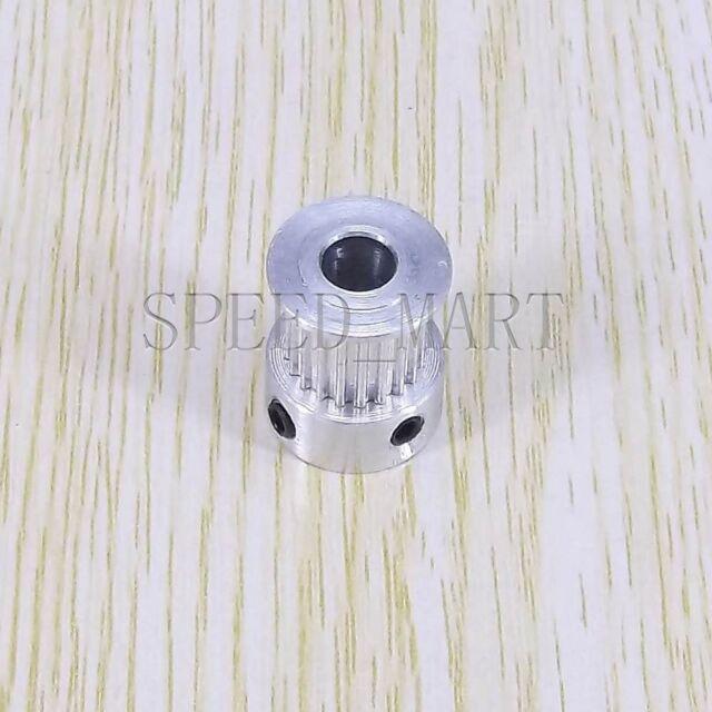 100MXL Belt 2 x MXL Type Timing Pulley 20 Teeth 6mm Bore for Stepper Motor