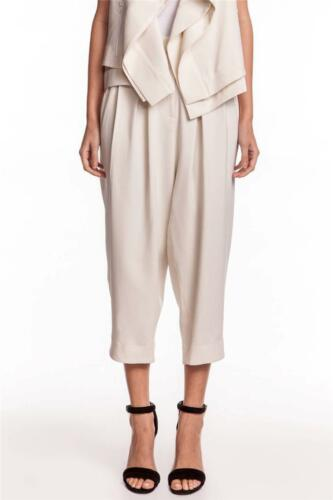 Camilla and Marc Chaise Trousers Light White Ivory Pants NEW