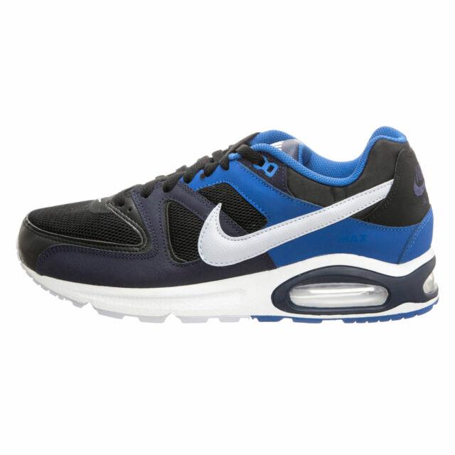 Scarpe sportive uomo NIKE Air Max Command in tela nero blu bianco 629993 048