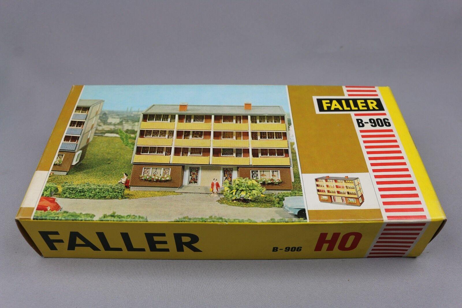 Z292 Faller B-906 maquette Ho 1 87 immeuble 3 etage ville Wohnhaus kit 906