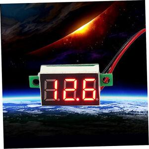 Mini-Size-LED-Panel-Voltage-Meter-3-Digital-LCD-Display-Adjustment-Voltmet-DH