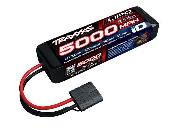 Traxxas 2842X 2S 7.4V 5000mAh 25C batería LiPo con conector de ID
