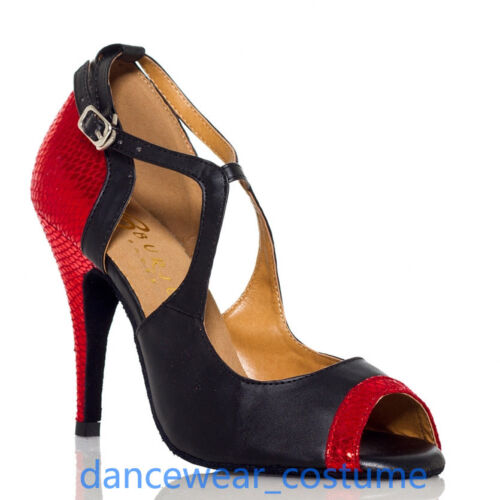 New Ladies Waltz Ballroom Latin Tango Jazz Salsa Dance Shoes Heels Sandals US5-9