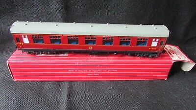 Analitico Hornby Dublo 4062 Open Corridor Coach Carriage 1st Class W.r. Nos Appears Unused