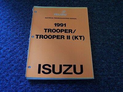 [DIAGRAM_34OR]  1991 Isuzu Trooper & II Electrical Wiring Diagram Manual S XS SE LS 2.6L  2.8L V6 | eBay | 1991 Isuzu Trooper Wiring Diagram |  | eBay