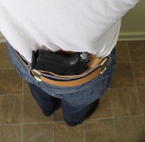 IWB Holster for Glock 17 19 20 21 22 23 25 26 27 28 29 30 Leather Holster USA