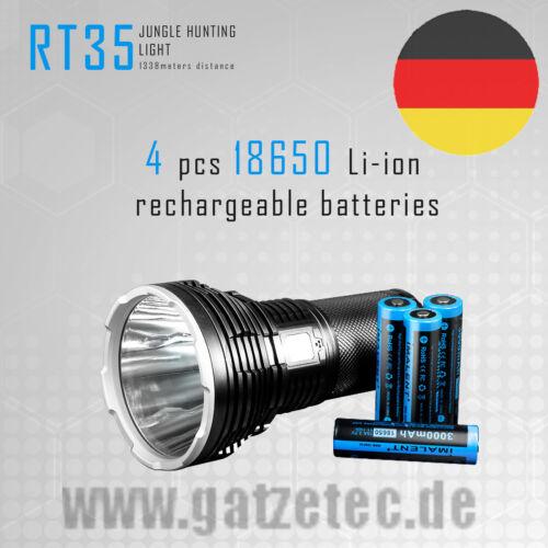 2018 Imalent RT 35 LED Taschenlampe mit CREE XHP 35 HI Kit Reichweitenrekord