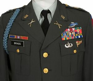 CLASS-A-TROPICAL-ARMY-GREEN-344-DRESS-41S-JACKET-UNIT-PATCH-SPECIALIST-RANK