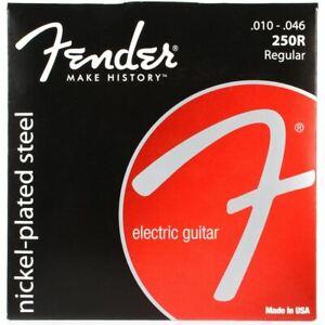 Jeu-de-cordes-250R-FENDER-10-a-46-ref-073-0250-406-pour-guitare-electrique