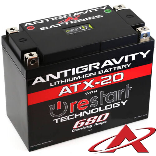 Jump Start Antigravity RE-START ATX-20 Stock Case 680CCA Lithium Ion Battery