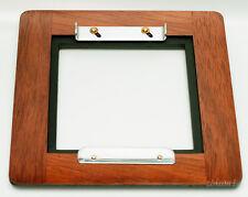 "1 ADAPTER 6x6RC for 4x4""SC boards to DEARDORFF 8""x10"" Solid Jatoba/Aluminum"