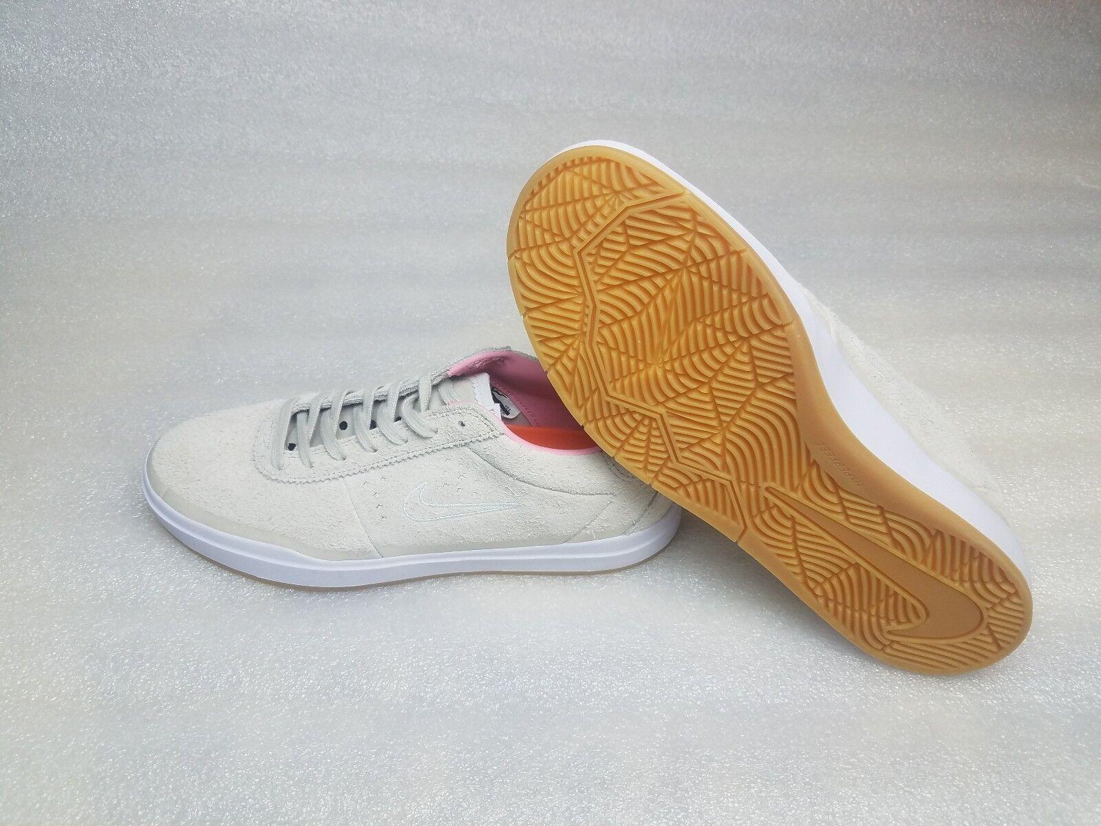 Nike SB Bruin Hyperfeel Quarter Snacks Birch Pink White Gum Size 8 869767-218