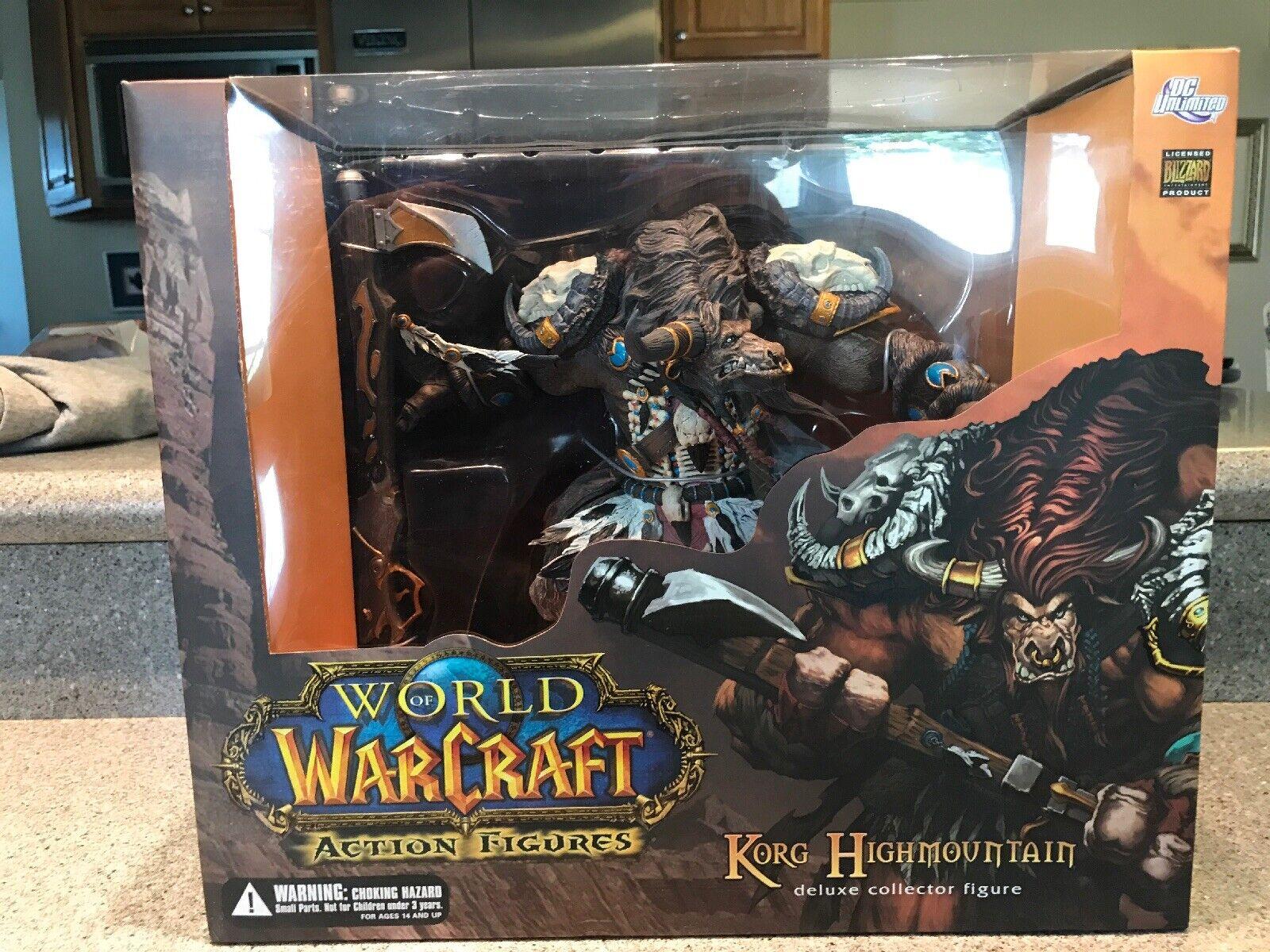 World of warcraft Action Figure Deluxe Collectors Figure - Korg Highmountain