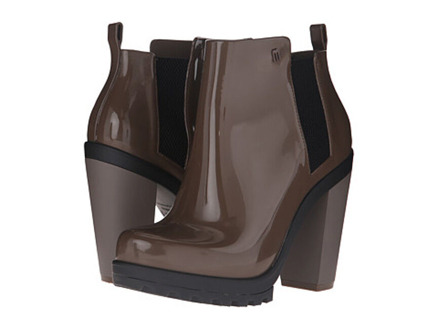 New Melissa  Women's Soldier II AD Brown Ankle heels boots Size 9