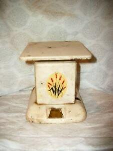 Vintage Kitchen Scale cremig Chippy Rusty Original Abziehbild 1930's Depression Era