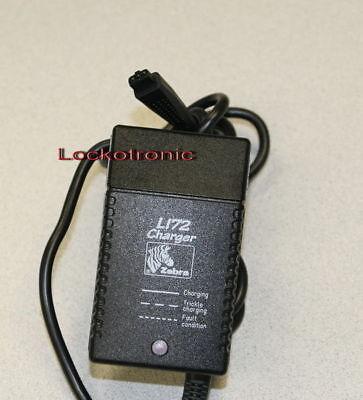 Zebra LI72 L172 Battery Charger for QL220 QL320 QL420 RW420 RW220 Printers
