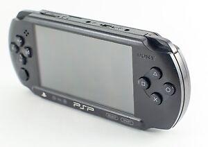 Sony Psp Street E1000 E1004 E1008 Charcoal Black 711719182184 Ebay