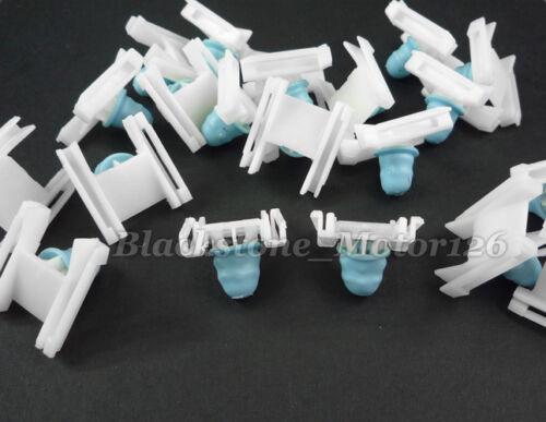 10 Pcs Moulding Clip Nylon Retainer W// Rubber Grommet For VW Passat 3B0-853-576