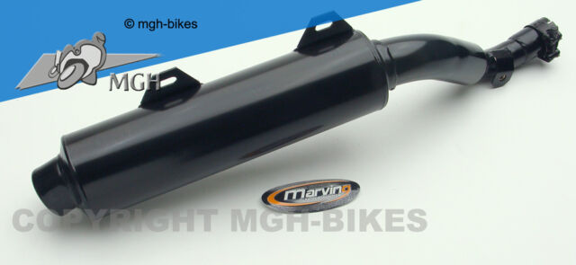 Marving EDR Auspuff Silencer Yamaha XT 600 E 99-> DJ02 Black NEW