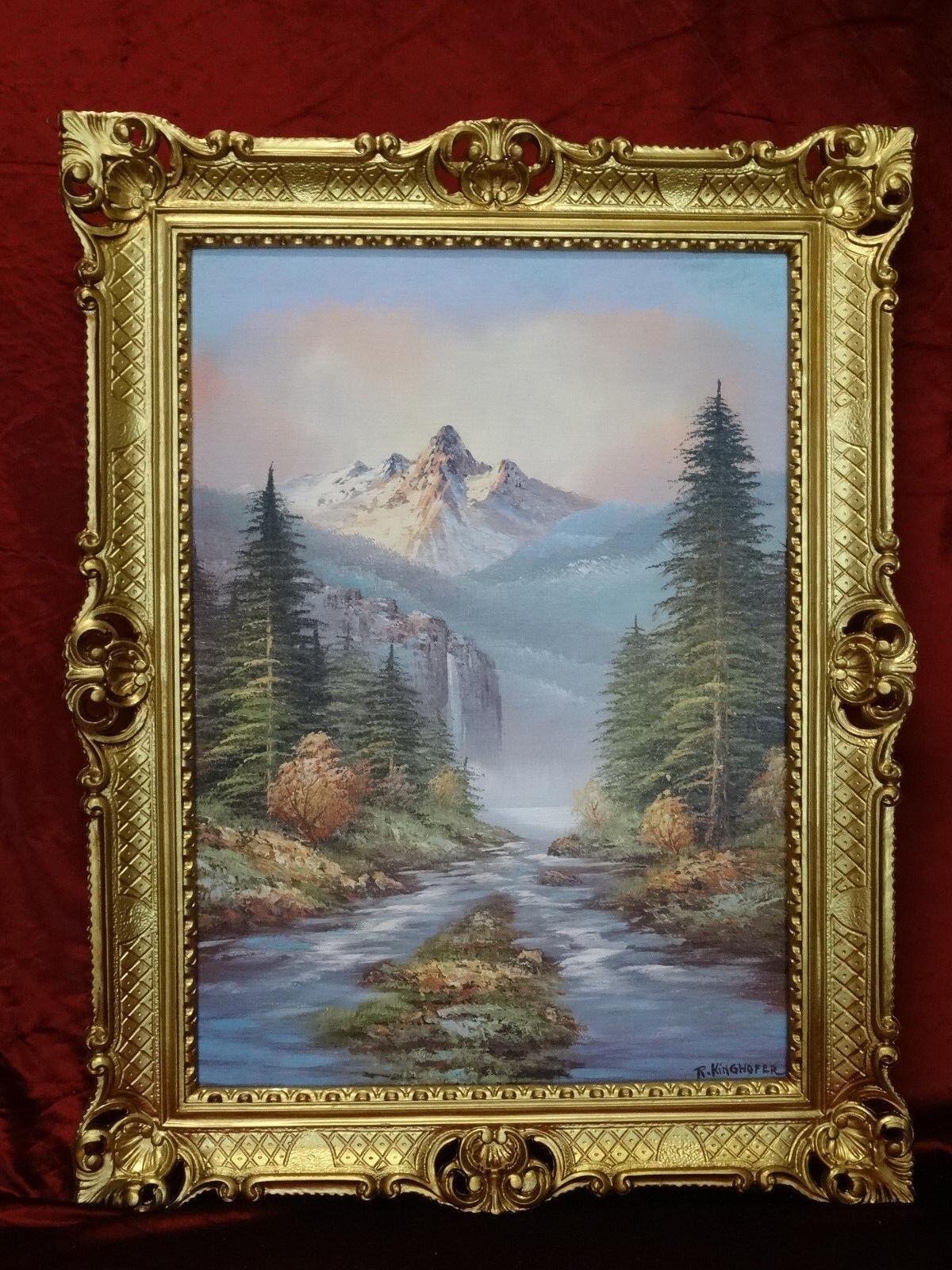 Gem lde bild bilder landschaft landschaftsbilder berge for Couchtisch 90x70