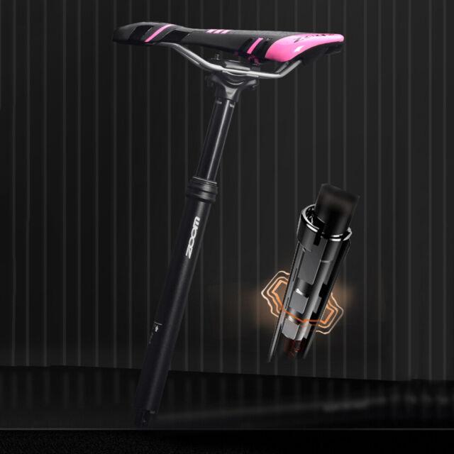 TranzX YSP36 External Bicycle Dropper Seatpost 27.2x395mm x Travel 110mm
